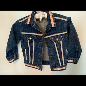 Vintage Girls' Levi's jean jacket